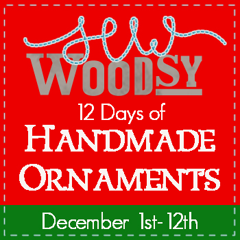 12 Days of Handmade Ornaments