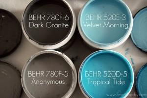 BEHR Paint Samples