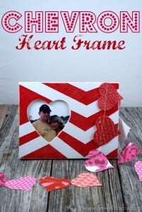 Chevron Heart Frame 10