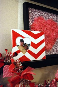 Chevron Heart Frame 13