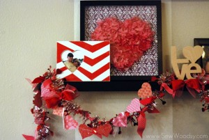 Chevron Heart Frame 14