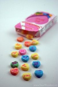 Conversation Heart Magnets 8