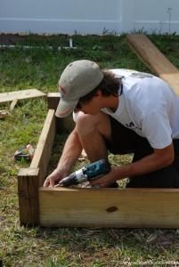 Building a Garden Box 5