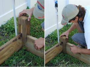 {Part 2} How to Build A Raised Garden Bed