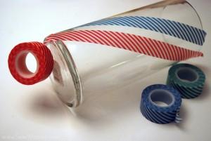 Washi Tape Swirl Vase 3