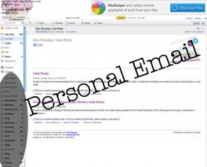 personal email screenshot