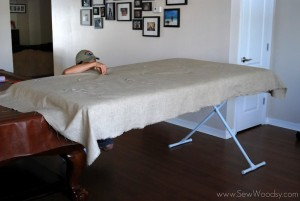 Upholstered Tufted Headboard Tutorial