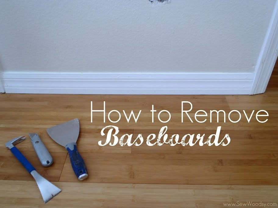 How To Remove Baseboards