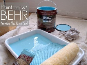 Our BEHR Paint Story