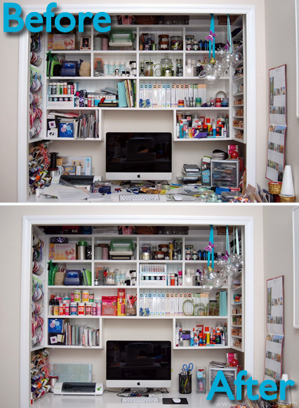 Before And After Craft Room