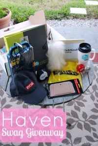 Haven Conference Swag Giveaway