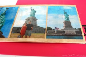 Mod Podge Patriotic Photo Plaque 10