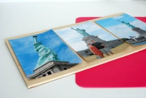 Mod Podge Patriotic Photo Plaque 3