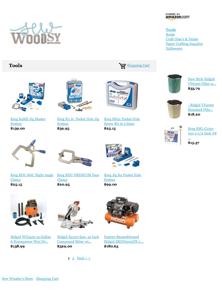 Sew Woodsy Amazon Store
