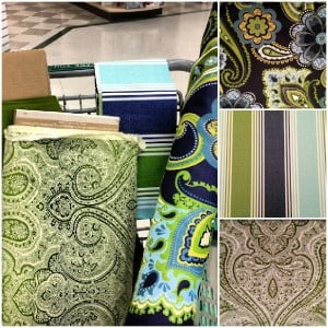 fabric inspirations for decorating our living room
