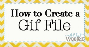 how to create a gif file