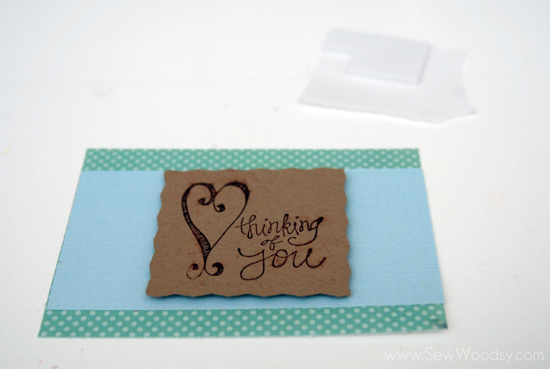 Card Making Thinking of You