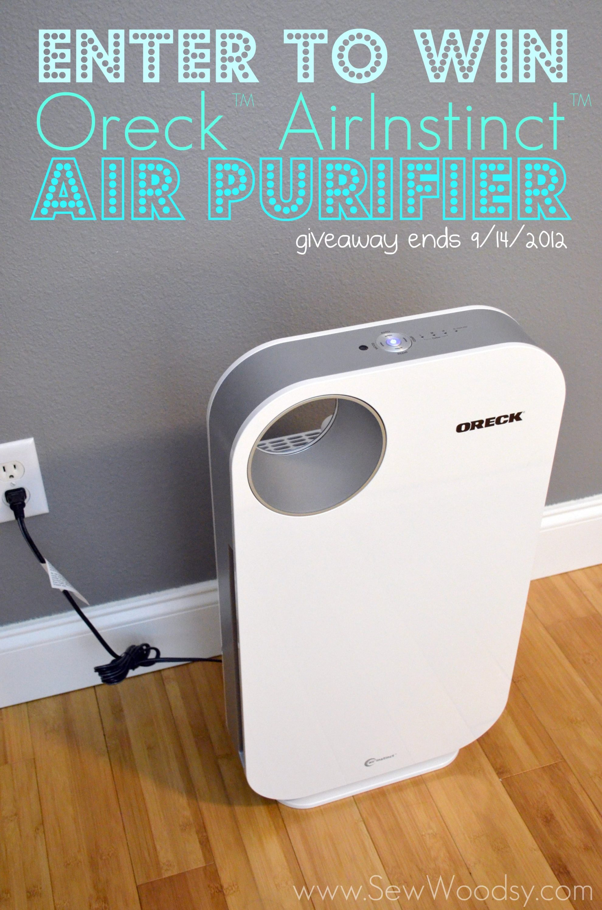 Oreck AirInstinct Air Purifier