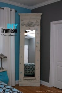 trumeau floor mirror