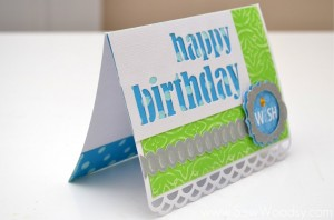 Card Making is as easy as 1-2-3!