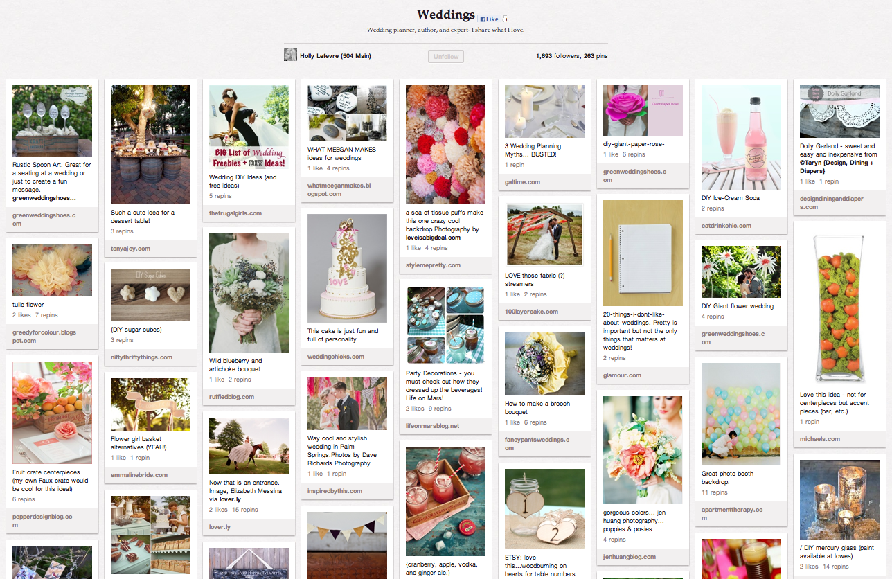 Weddings on Pinterest