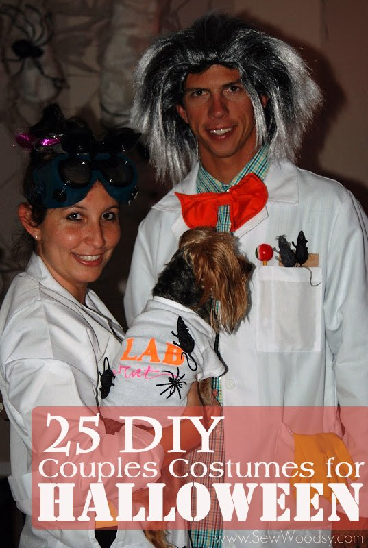 25 DIY Couples Costumes for Halloween