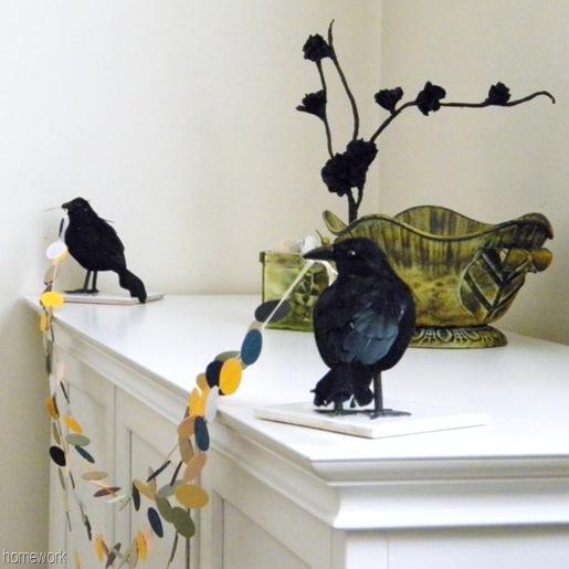 Crow Garland