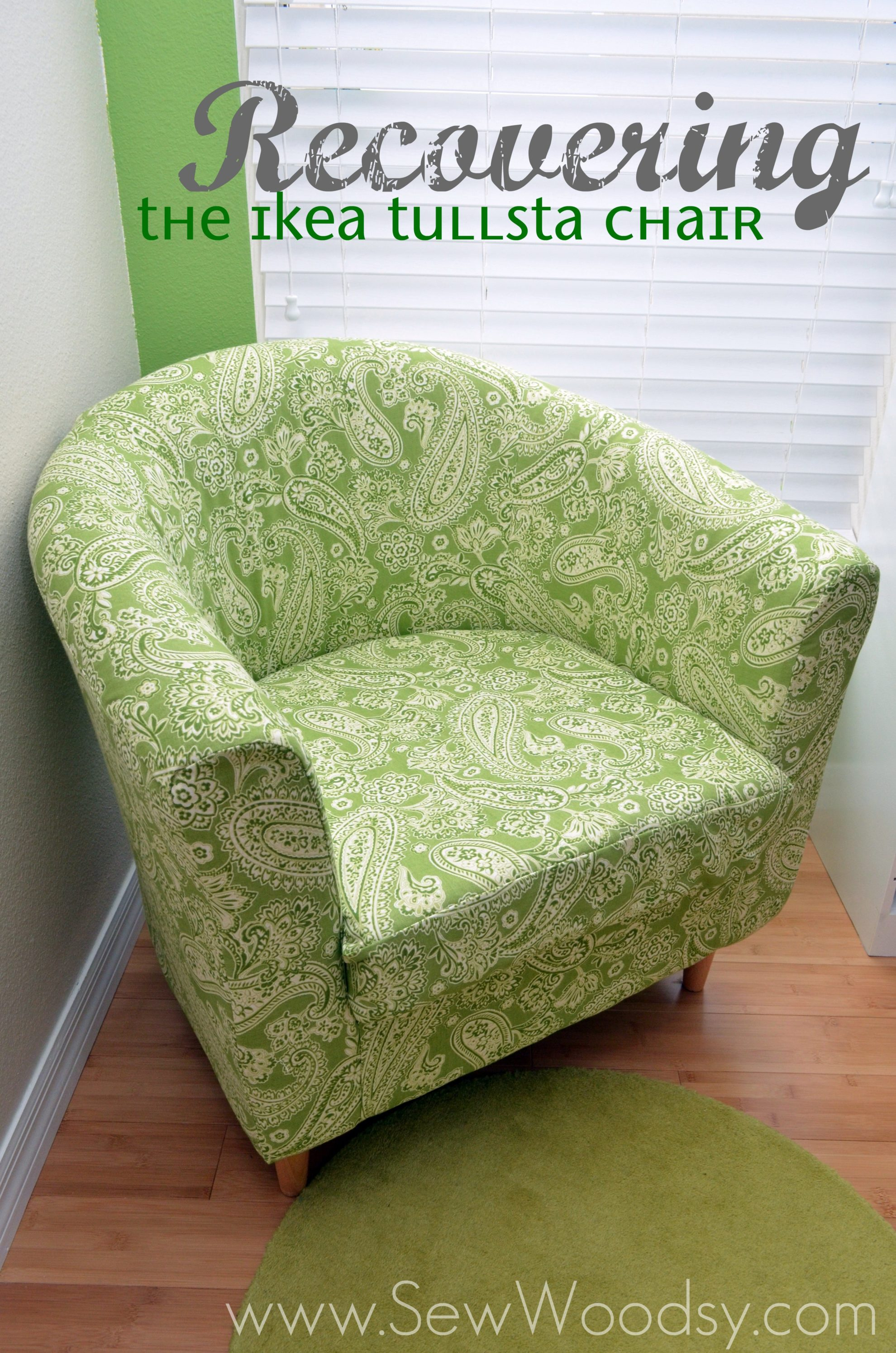 How to Recover the Ikea Tulsta Chair