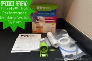 {Product Review} Filtrete™ High Performance Drinking Water System
