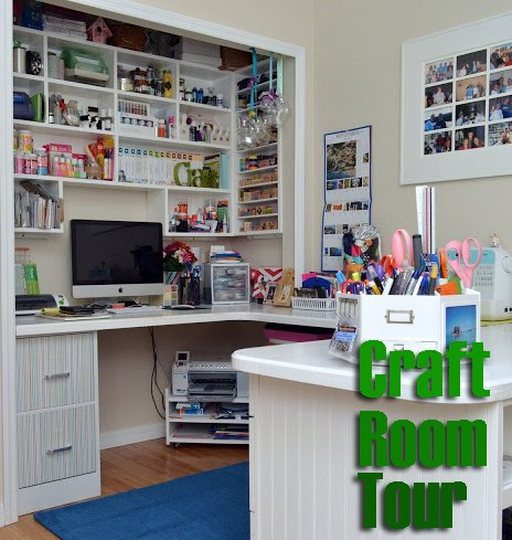 sew woodsy craft room