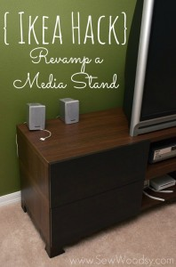Ikea Hack Revamp a Media Stand
