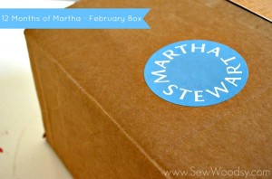 12 Months of Martha - February Box