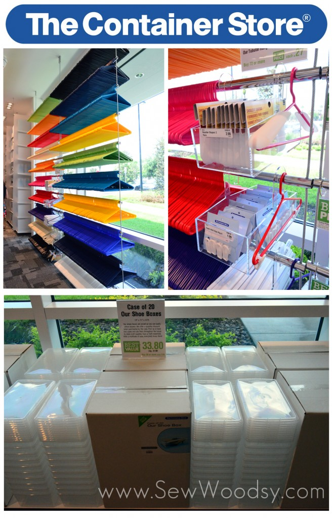 Hangers & Organization at The Container Store via SewWoodsy.com