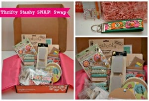 Thrifty Stashy SNAP! Swap + Personalized Vintage Notebook