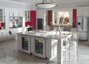Electrolux Dream Kitchen via SewWoodsy.com