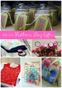 6 DIY Mother's Day Gifts from SewWoodsy.com