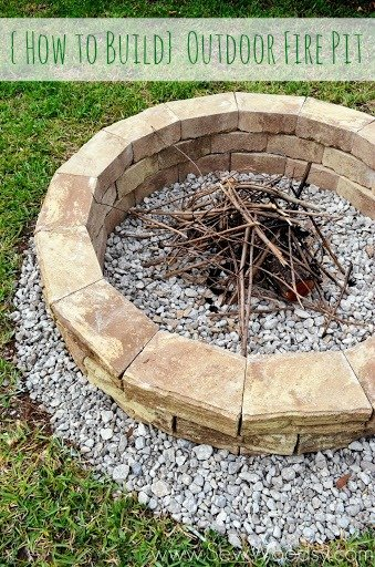 How To Build Outdoor Fire Pit