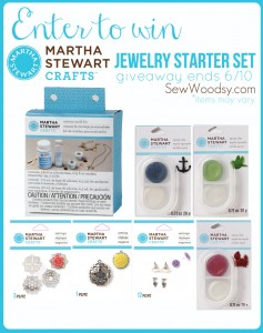 Enter to Win Martha Stewart Crafts Jewelry Starter Set via SewWoodsy.com #12MonthsOfMartha #MarthaStewartCrafts