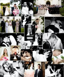 wedding collage via SewWoodsy.com