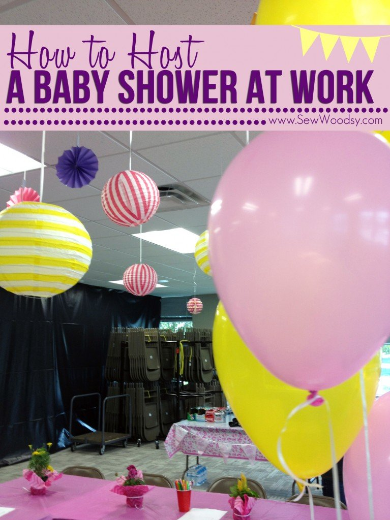 How to Host a Baby Shower at Work