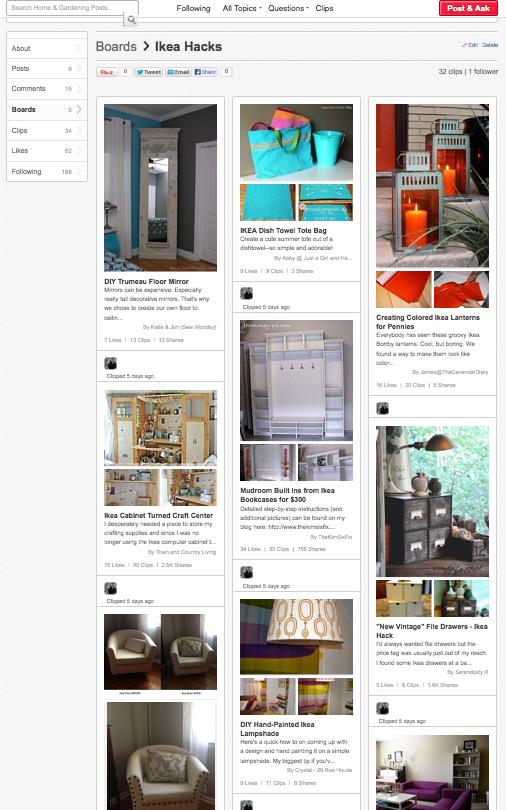 32 Ikea Hacks - HomeTalk via SewWoodsy.com