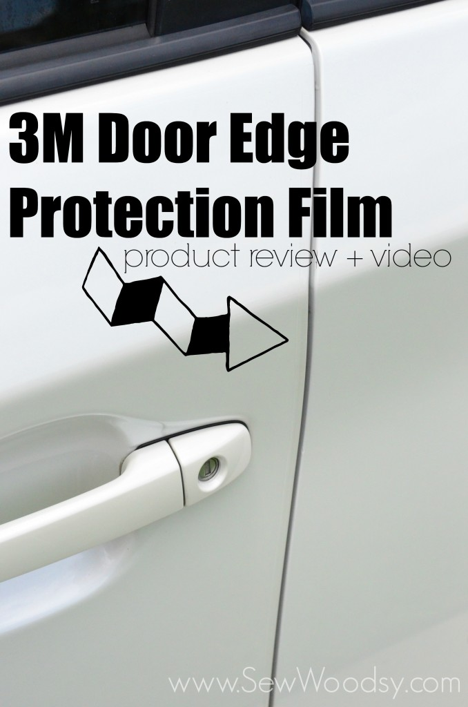 3M Door Edge Protection Film + Video from SewWoodsy.com