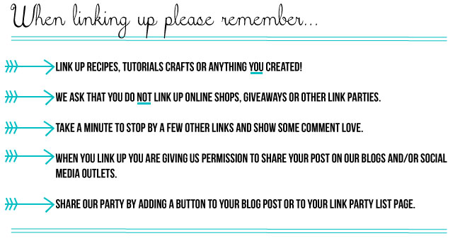 Life Inspired Weekly Link Party Rules