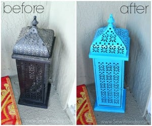 Brighten Up An Old Outdoor Lantern
