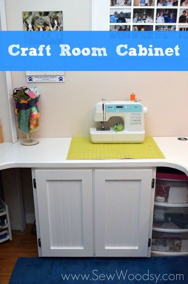 Craft Room Cabinet from Sew Woodsy
