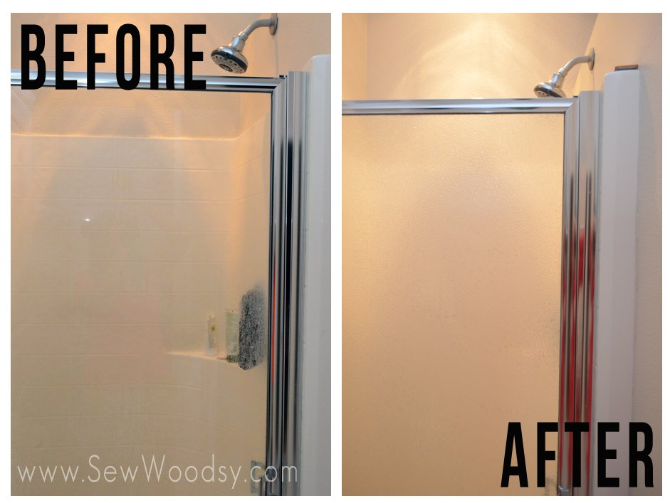 Beau Update A Shower Glass Door From SewWoodsy.com Video Created For  @homesdotcom #diy