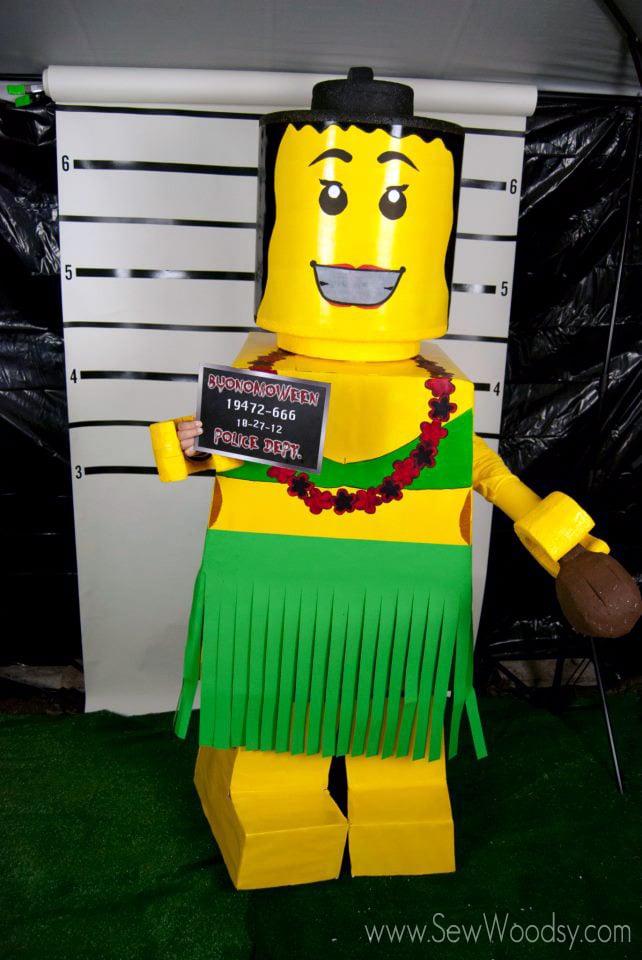 Diy lego costumes sew woodsy diy hula lego costume solutioingenieria Gallery
