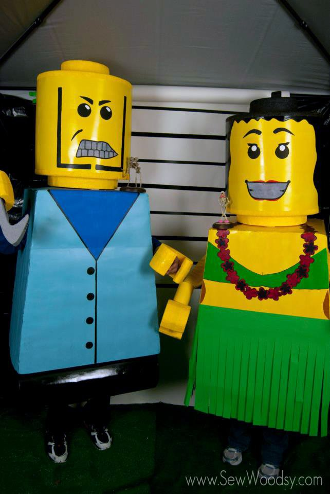 DIY Lego Costume Tutorial & DIY Lego Costumes | Sew Woodsy