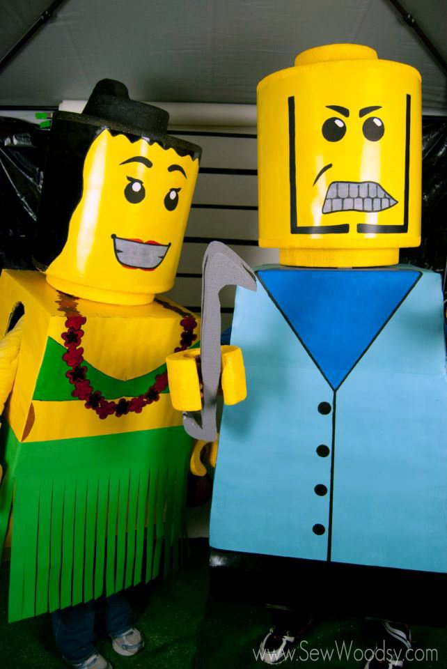 DIY Lego Costumes from SewWoodsy.com