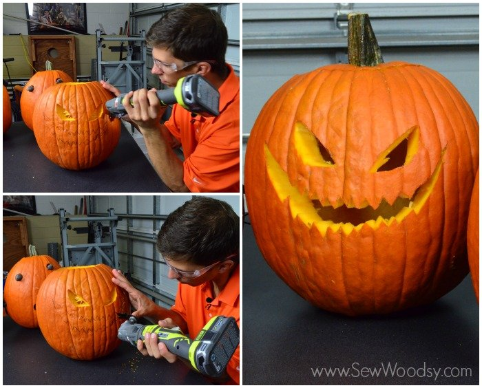Pumpkin Carving 101 - video made for @Homesdotcom on SewWoodsy.com